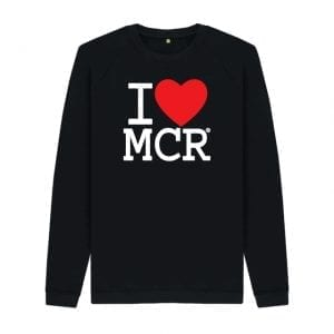 I Love MCR Sweater I Love Manchester