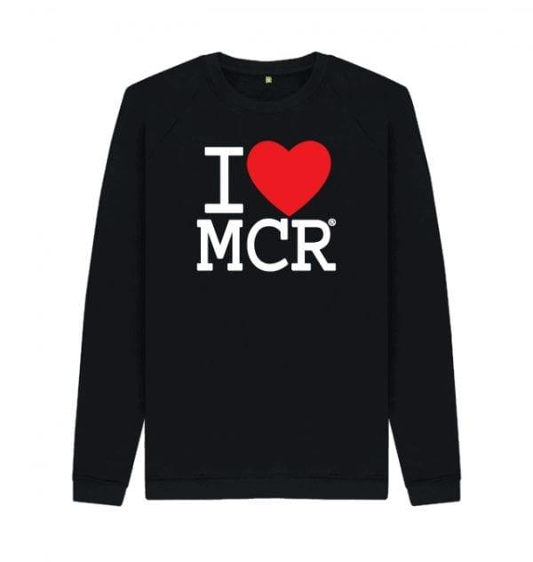 I Love MCR Sweater I Love Manchester
