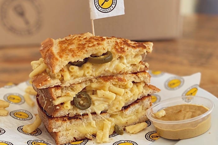 Northern Soul are delivering their famous grilled cheese sandwiches as 'grill-it-yourself' kits I Love Manchester