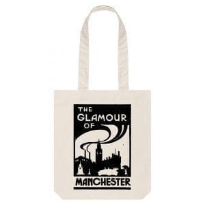 The Glamour of Manchester Tote Bag I Love Manchester