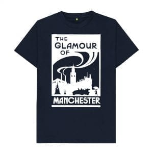 The Glamour of Manchester T-Shirt I Love Manchester