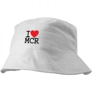 I Love MCR Bucket Hat I Love Manchester