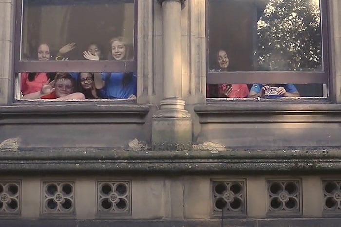 The whole of Greater Manchester is invited to join the mass doorstep sing-a-long I Love Manchester