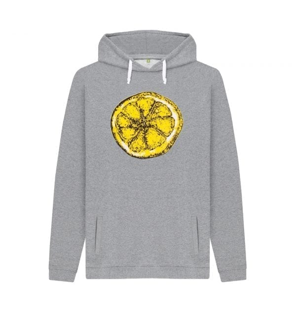 The Stone Roses Lemon Hoodie I Love Manchester