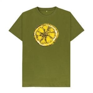 The Stone Roses Lemon T-Shirt I Love Manchester