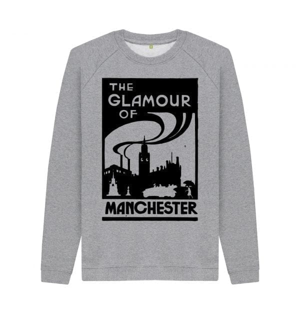 The Glamour of Manchester Sweater I Love Manchester