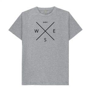 Barm Compass T-Shirt I Love Manchester