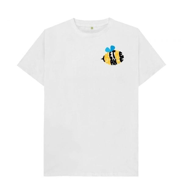Bee The Change T-Shirt I Love Manchester