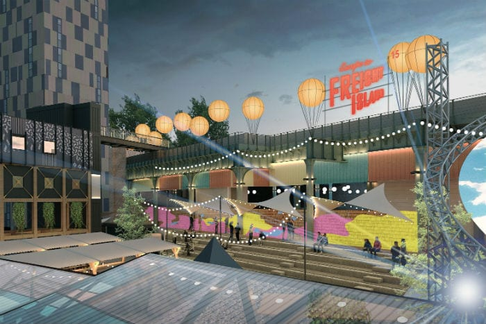 Escape to Freight Island is coming to Manchester this summer - but what is it? I Love Manchester