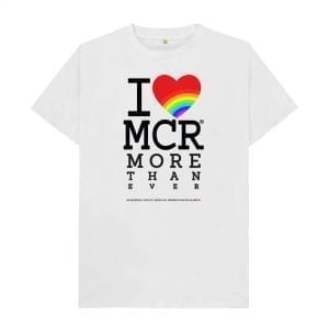 """I Love MCR More Than Ever"" T-Shirt I Love Manchester"