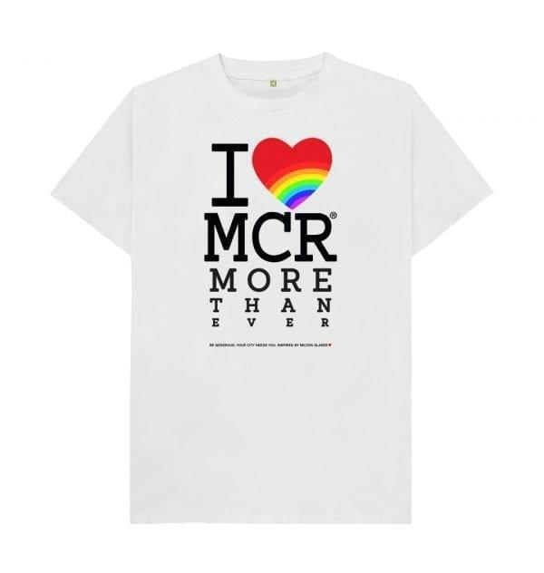 """I Love MCR More Than Ever"" T-Shirt I Love Manchester"