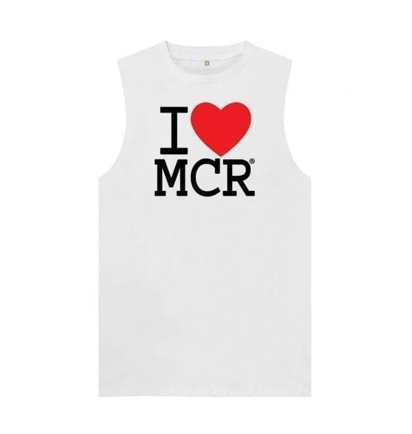 Unisex I Love MCR Vest Top I Love Manchester