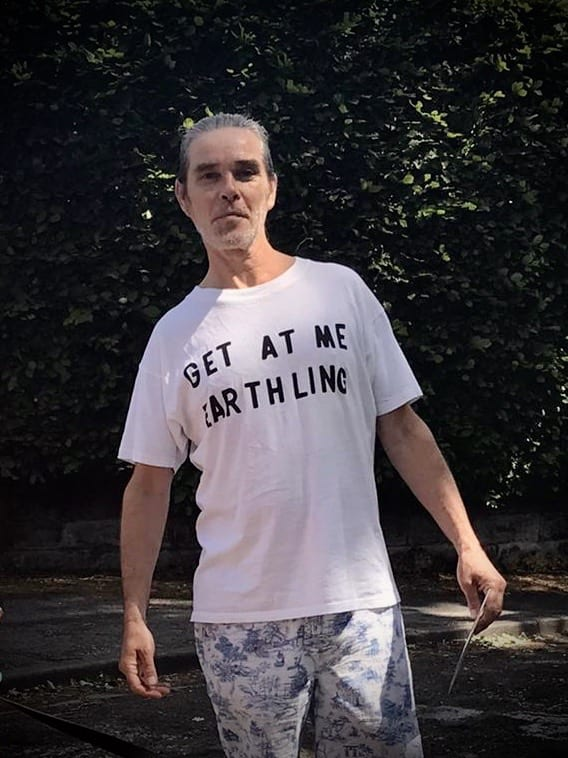 Get At Me Earthling T-shirt I Love Manchester