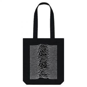 Joy Division-inspired Tote Bag I Love Manchester