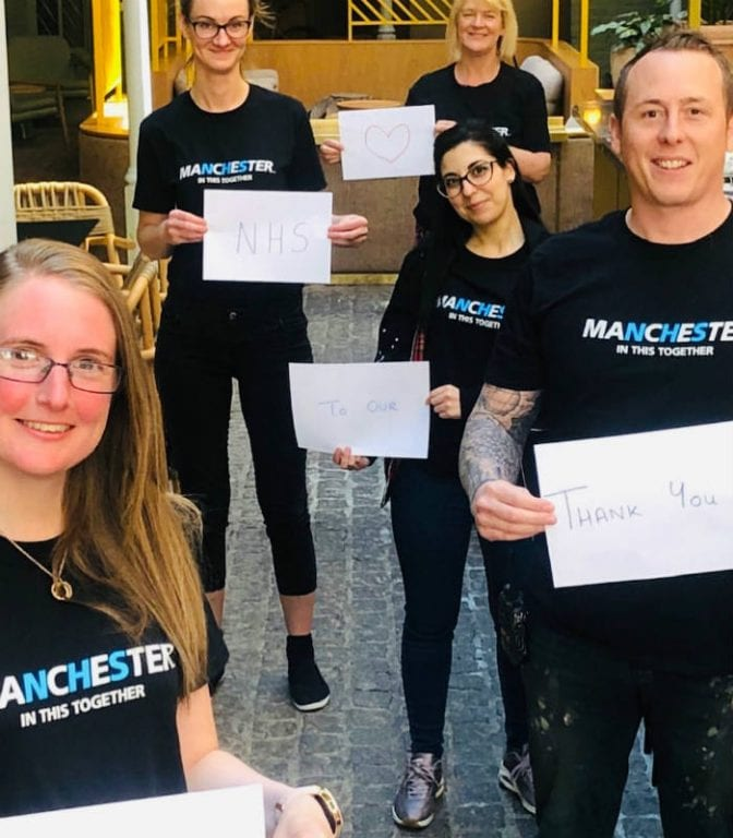 NHS workers thank Manchester hotels for rooms during crisis and call staff 'unsung heroes' I Love Manchester