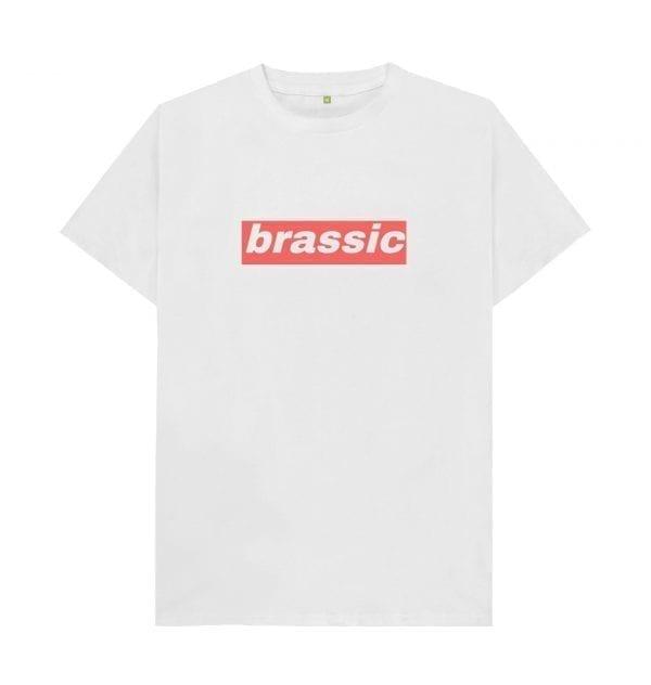 """Brassic"" Slogan T-Shirt I Love Manchester"