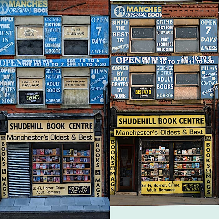 Meet the crafty Whitefield man building Manchester's memorable landmarks in miniature I Love Manchester