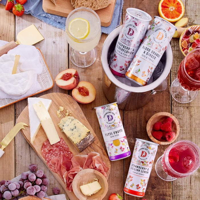 Tutti frutti gin fizz in a can is here to take your picnic to the next level I Love Manchester