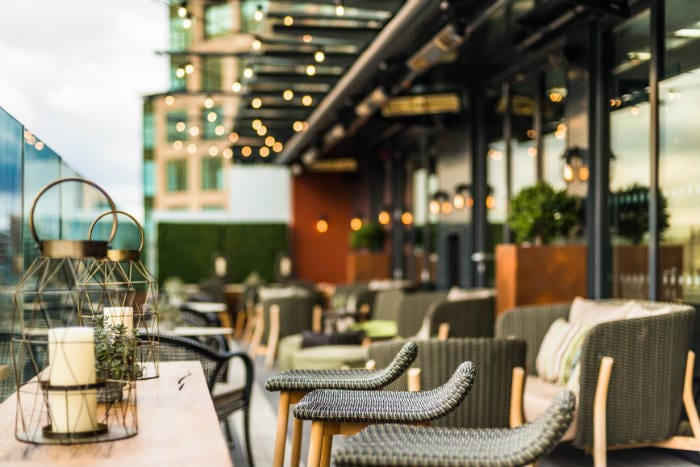 The summer rooftop terrace bar is now open at this luxury townhouse I Love Manchester