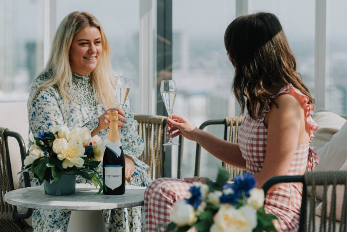 Manchester's highest restaurant launches English garden terrace with fine fizz and food I Love Manchester