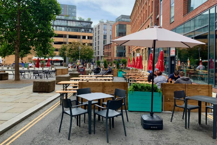 Outdoor drinking BANNED in Manchester city centre this bank holiday weekend I Love Manchester