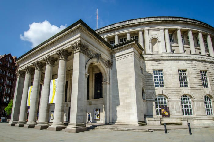 Manchester Central Library will reopen this month with new measures in place I Love Manchester