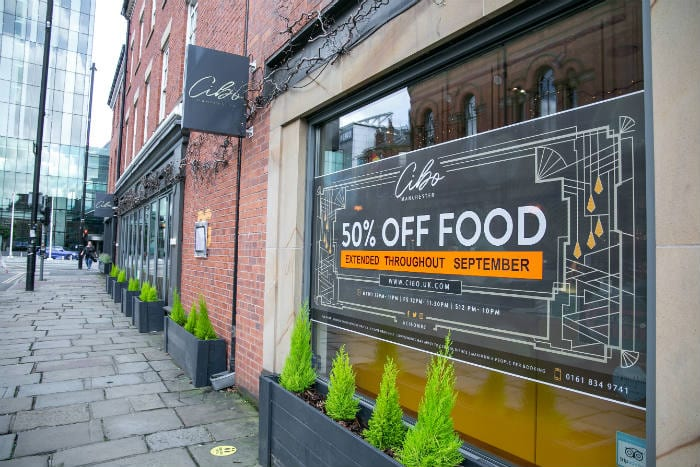 This top Italian restaurant is offering half price food all month I Love Manchester