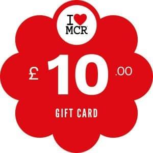 I Love MCR Gift Card £10 I Love Manchester