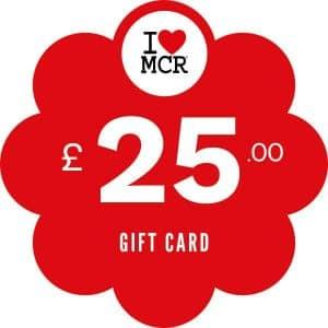 I Love MCR Gift Card £25 I Love Manchester