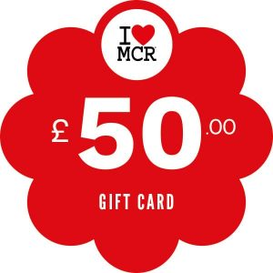 I Love MCR Gift Card £50 I Love Manchester