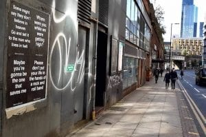 What's the story with the Oasis posters popping up across Manchester city centre? I Love Manchester