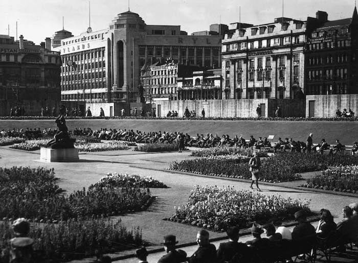 Manchester could've had its own Eiffel Tower where Piccadilly Gardens stands today I Love Manchester