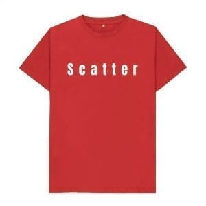 """Scatter"" Slogan T-Shirt I Love Manchester"