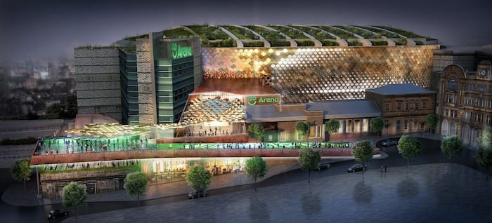 Manchester Arena reveals new name - to go with bold new look I Love Manchester