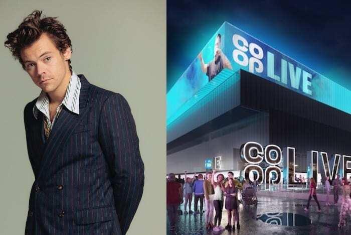 Harry Styles Coop Live