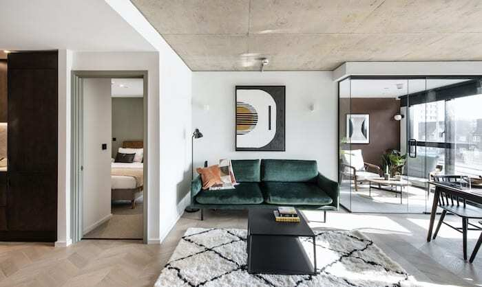 Brand new open plan 2-bedroom apartment with garden in ...