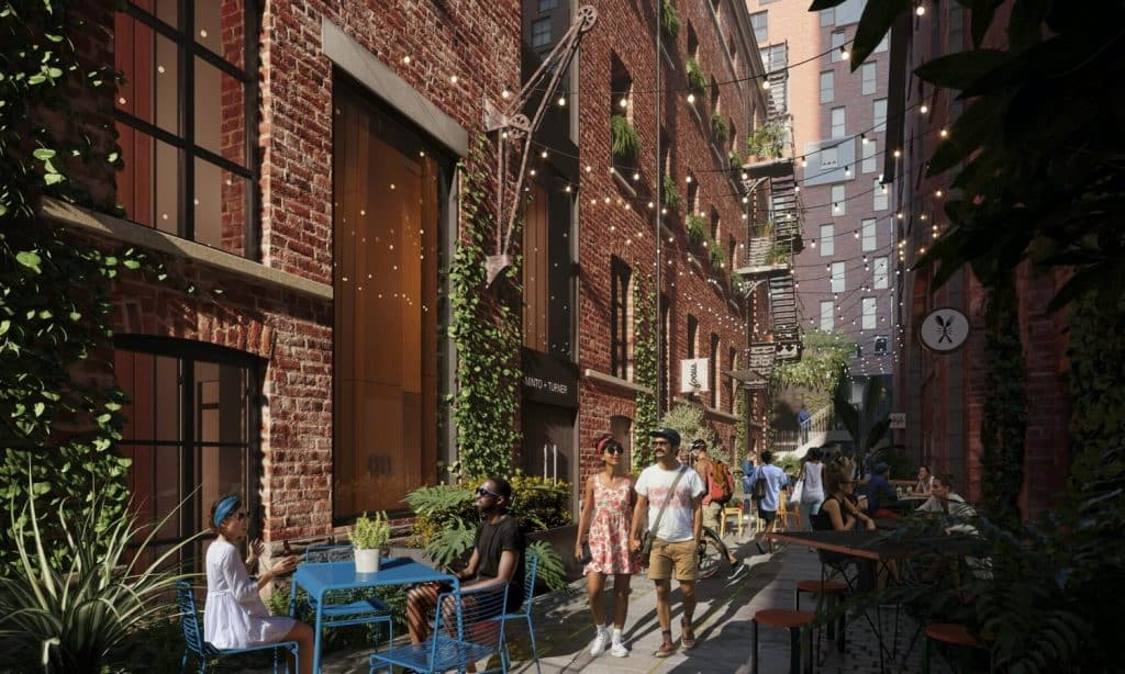 Kampus will celebrate the reopening of Little David Street
