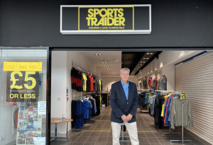 Salford Shopping Centre will be home to a new branch of Britain's first charity sports shop