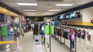 Sports Traider will sell top brands including Regatta, Kickers, Tokyo Laundry and Speedo